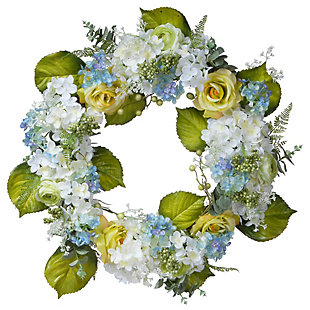 National Tree Company Spring Flowers Wreath, , large