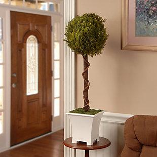 National Tree Company Single Ball Topiary Tree, , rollover