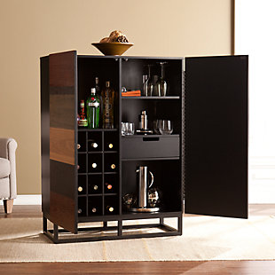 Large Harvey Bar Cabinet Rollover