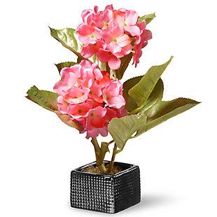 National Tree Company Pink Hydrangea Flower, , large