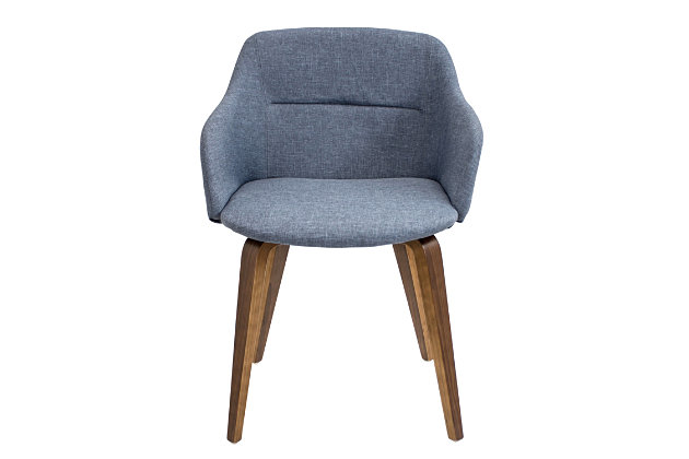 Campania Accent Chair, Blue, large