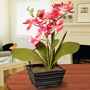 National Tree Company Pink Orchid Flower, , rollover