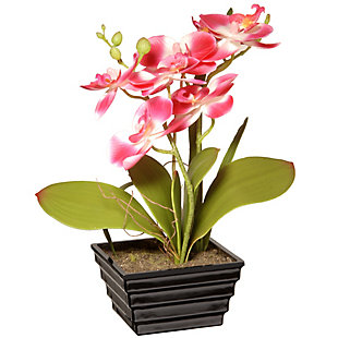 National Tree Company Pink Orchid Flower, , large
