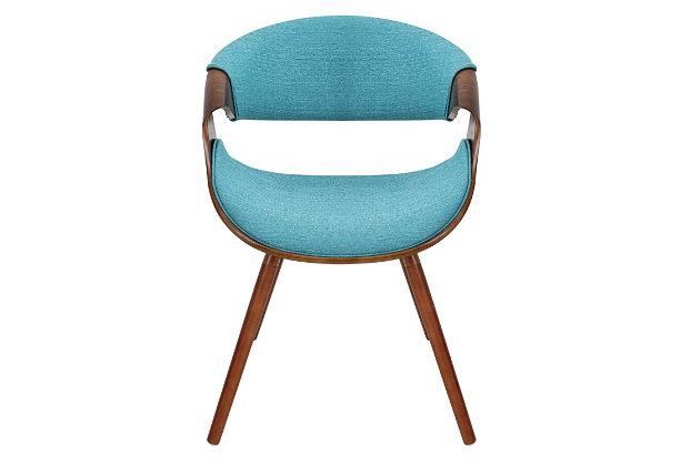 LumiSource Curvo Chair by Ashley HomeStore, Blue