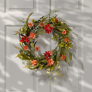 National Tree Company Wildflower Wreath, , rollover