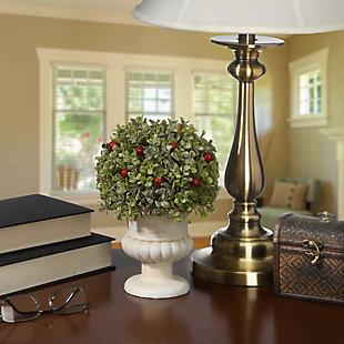 National Tree Company Boxwood Ball Topiary, , rollover