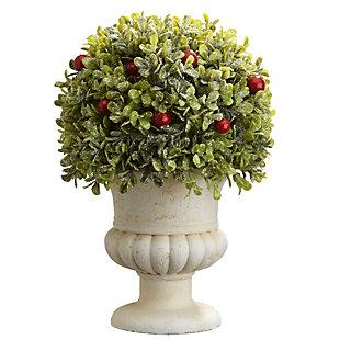 National Tree Company Boxwood Ball Topiary, , large