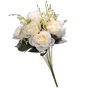 National Tree Company Cream Rose Bundle, , large