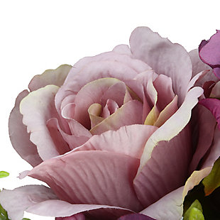 National Tree Company Assorted Purple Rose Bundle, , large