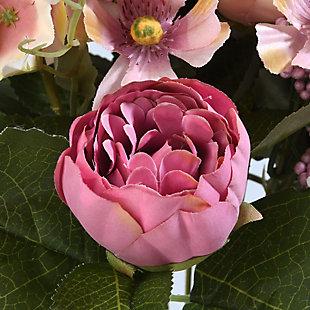 National Tree Company Assorted Pink Rose Bundle, , large