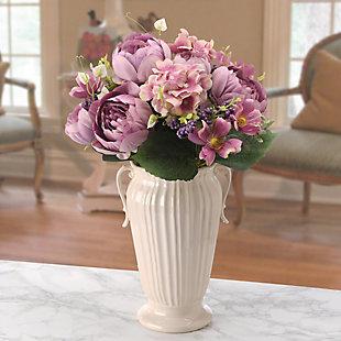 National Tree Company Light Purple Rose Bundle, , rollover
