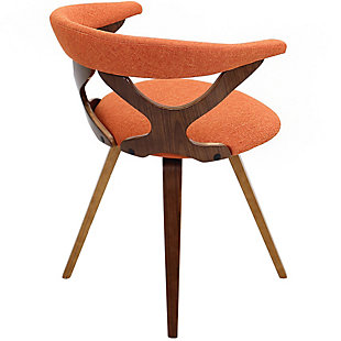 Gardenia Accent Chair, Orange, large