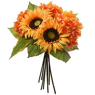 National Tree Company Sunflowers and Hydrangeas Bundle, , large