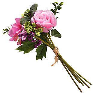 National Tree Company Pink Rose Bundle, , large