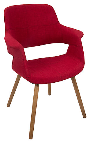 LumiSource Accent Chair, Red, large