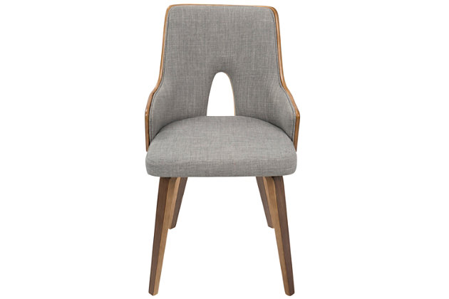 Lumisource Accent Chair (Set of 2), Gray, large
