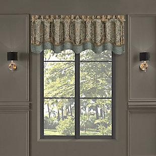 J. Queen New York New York Dorset Window Scallop Valance, , large