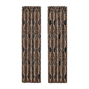"J. Queen New York New York Lauretta 84"" Window Panel Pair, , rollover"