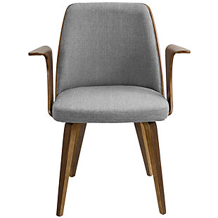 Verdana Dining Chair, Gray, rollover