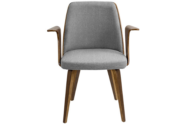 Verdana Dining Chair, Gray, large