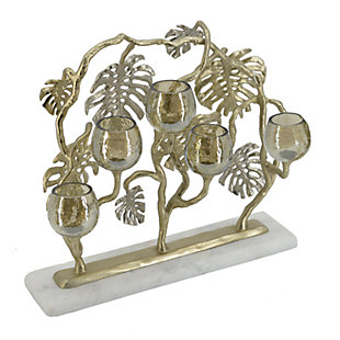 Gold Multi Tea-Light Holder, , large