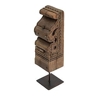 Toda On Metal Sculpture Stand, , large