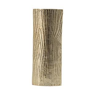 Aluminum Timber Eye Large Vase, , large