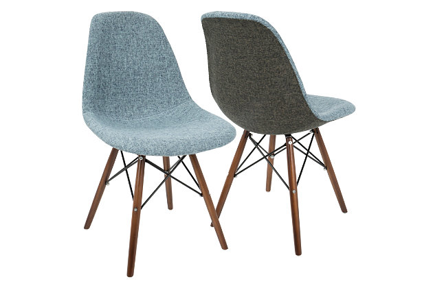 brady accent chair set of 2 ashley furniture homestore
