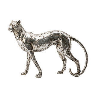 Standing Leopard Decorative Statue, , large