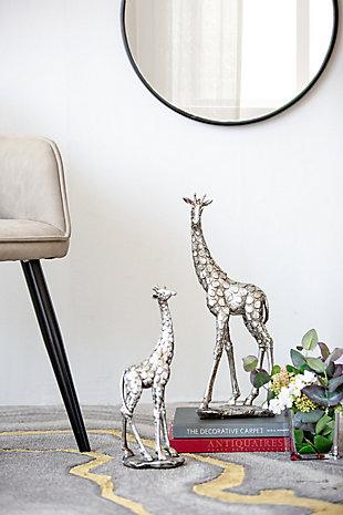 Standing Giraffe Decorative Statue, , rollover