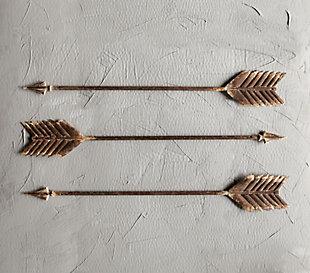 Creative Co-Op Metal Arrow Wall Decor, , rollover