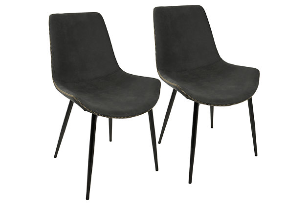 LumiSource Duke Chair (Set Of 2), , Large ...