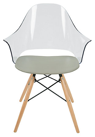 LumiSource Tonic Flair Chair (Set Of 2), , large