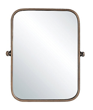 Creative Co-Op Metal Framed Pivoting Wall Mirror, , large