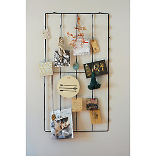 Creative Co-Op Metal Photo/Card Holder with 3 Postcards, , rollover