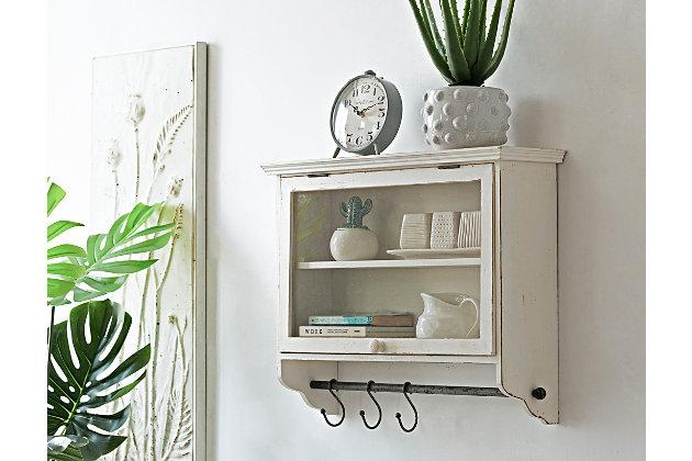 Creative Co Op Wood And Glass Wall, Creative Co Op Furniture