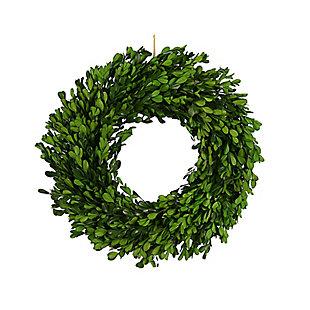 Creative Co-Op Faux Boxwood Wreath, , large