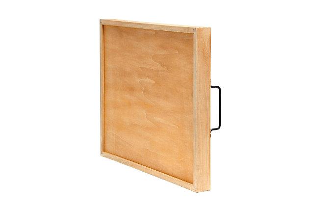 "Elegant Designs Decorative ""Thankful"" Wood Serving Tray, , large"