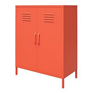 Novogratz Cache 2-Door Metal Locker Accent Cabinet, , large