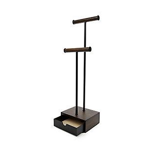 Umbra Pillar Black Jewelry Stand, , large