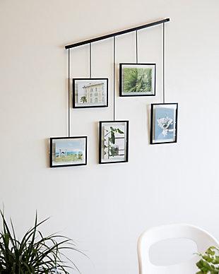 Umbra Exhibit Black Photo Display (5 Pictures), , rollover