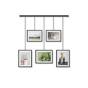 Umbra Exhibit Black Photo Display (5 Pictures), , large