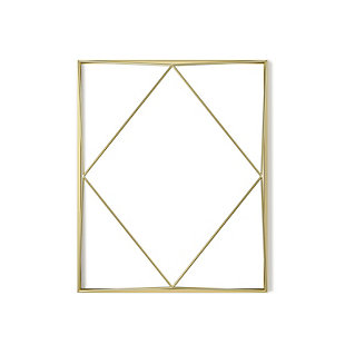 Umbra Prisma 18X22 Brass Photo Gallery, , large