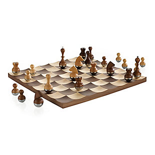 Umbra Wobble Chess Set Game, , large