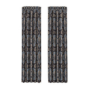"""J. Queen New York Middlebury 84"""" Window Panel Pair, , rollover"""