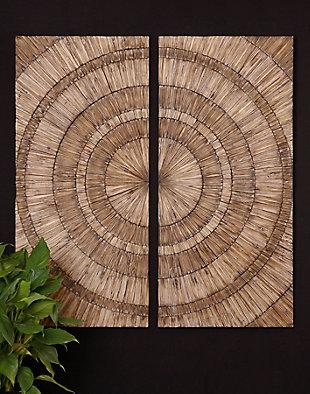 Uttermost Lanciano Wood Wall Art, , large