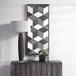 Uttermost Ambie Mirrored Wall Decor, , rollover