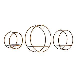 Uttermost Ellison Drum Cage Shelves Set of 3, , large