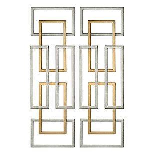 Uttermost Aerin Geometric Wall Art, Set of 2, , large