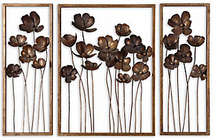 Uttermost Metal Tulips Wall Art Set of 3, , large